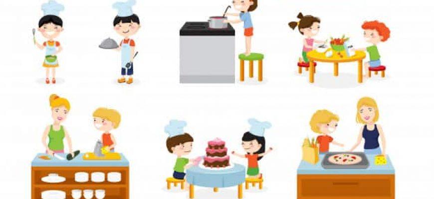 האם מטבח לילד עוזר להתפתחות שלו